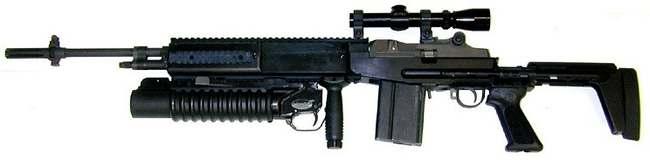 Винтовка M14 (Mk.14 mod.0) -